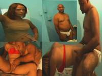Diaper Man Faking the Fuck with Dominican Stripper Hood Bitch