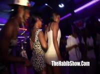 Big booty Twerking her ASS at the Hood Club while fight breaks out and DJ clowning Image 5