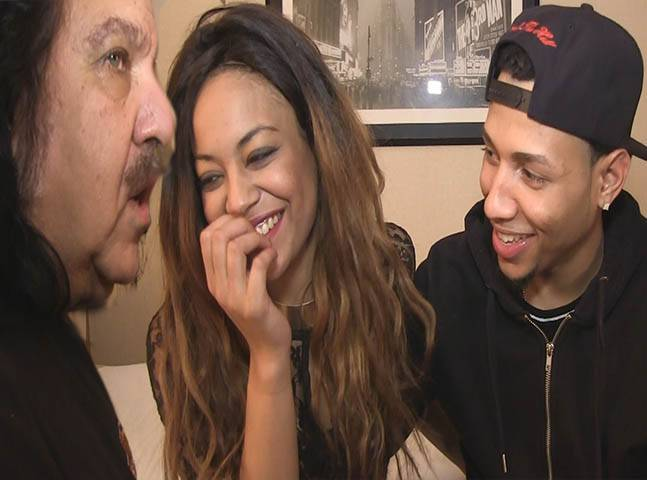 crystal black chicago pussy - BLACK PORN PREVIEW.. PORTIA BANGED BY RON JEREMY AND THE DOMINICAN STALLION  MACANA MAN
