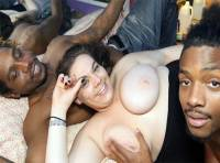 BBW WHITE GIRL INTERRACIAL THREESOME...KHLOE GETS FUCKED BY KING KREME AND STRETCH